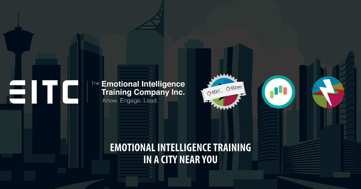 Emotional intelligence training in a city near you.