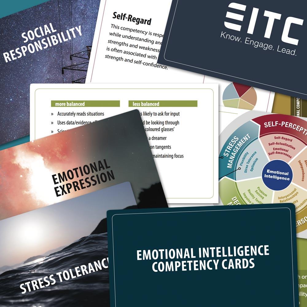 Emotional Intelligence competency card deck, based on the EQ-i 2.0 / EQ 360